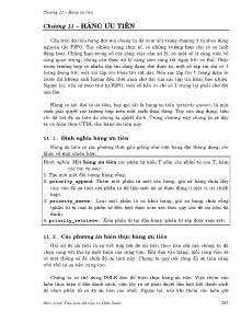 Giáo trình Cấu trúc dữ liệu và giải thuật - Chương 11: Hàng ưu tiên